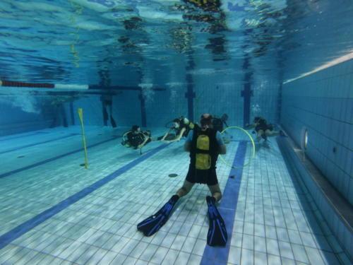 Baptêmes sous l'eau