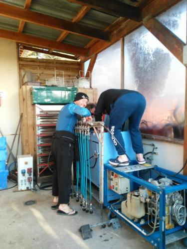 Installation compresseurs
